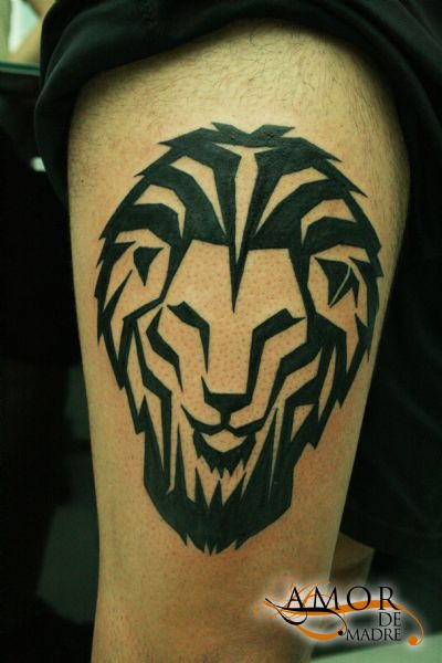 Leon-lion-king-tattoo-tatuaje-amor-de-madre-zamora